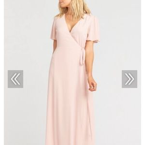 Show Me Your Mumu - Dusty Blush Crisp - Size L